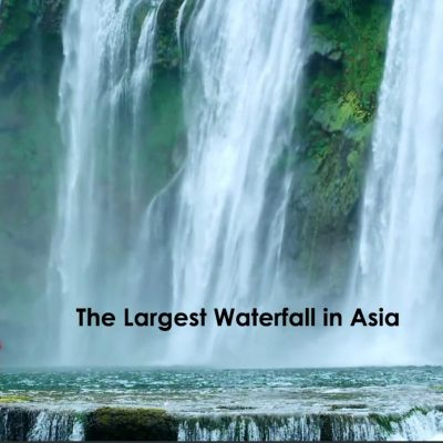 Where is the Largest Waterfall in Asia?