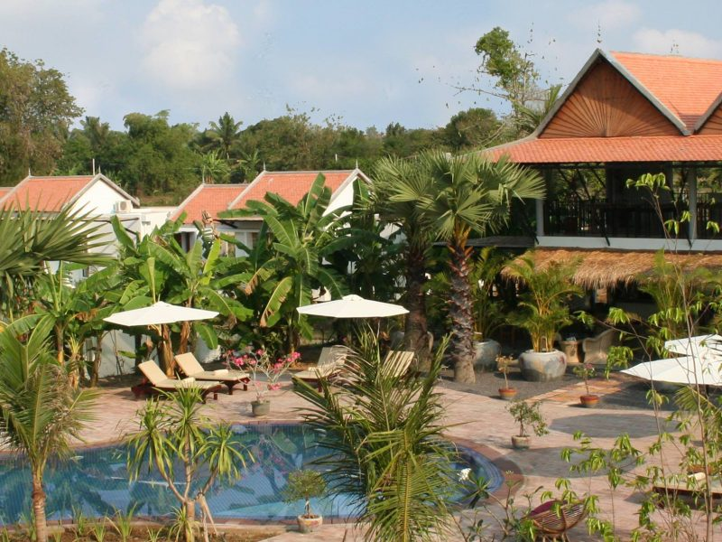 Battambang Resort hotel 4★, Battambang
