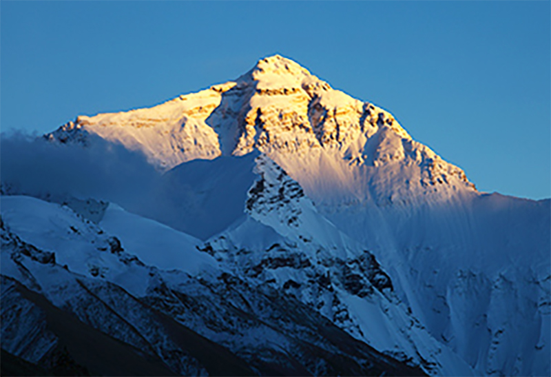 Everest Peak tibet china