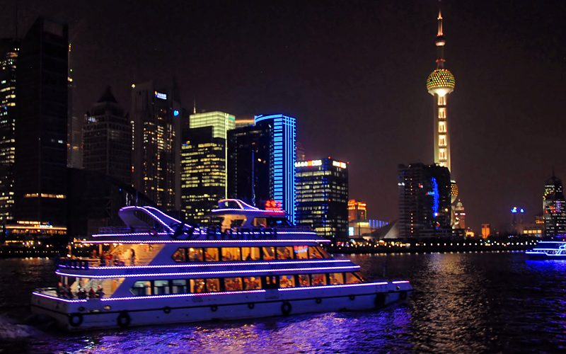 Huangpu River Cruise Shanghai China