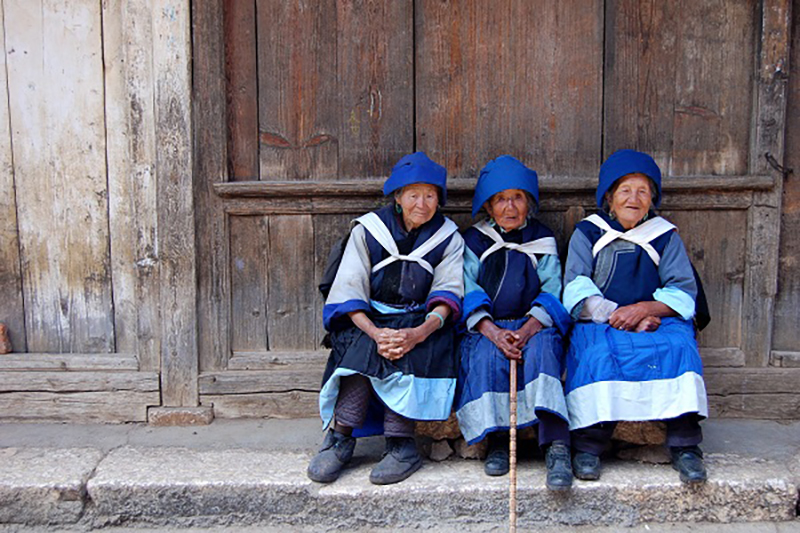 Minority Village lijiang yunnan china