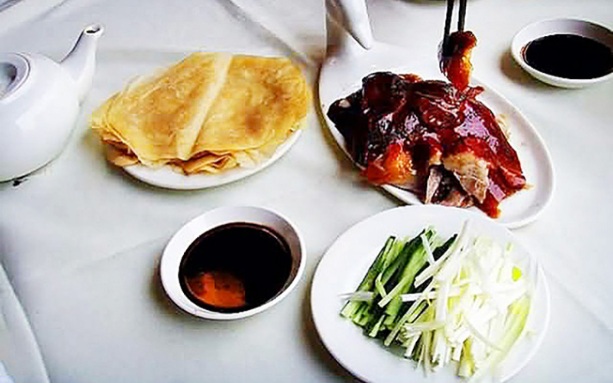 Peking duck Beijing China