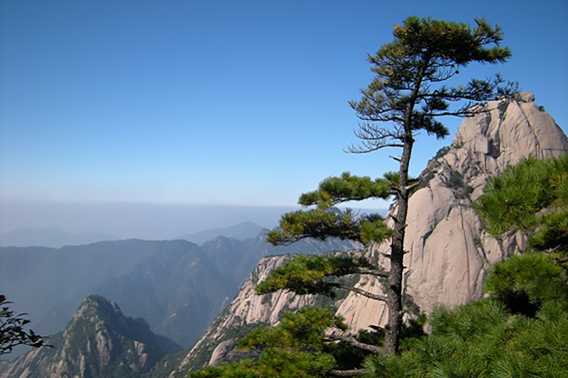 Yellow Mountain Huangshan China