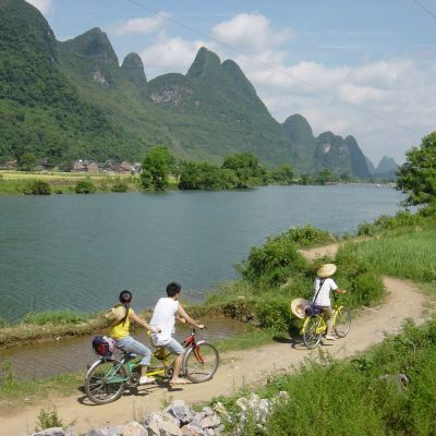 bike yangshuo china