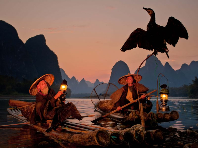 cormorant fishermen1.2 yangshou china