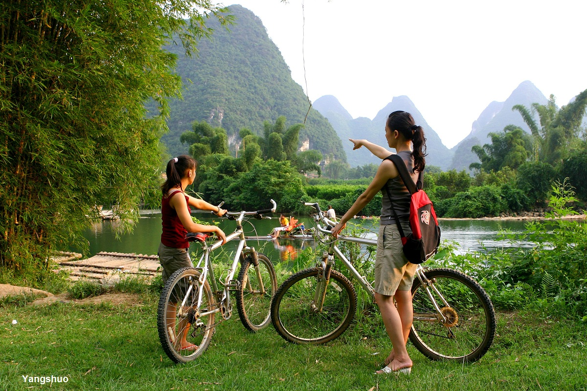cycling yangshou china