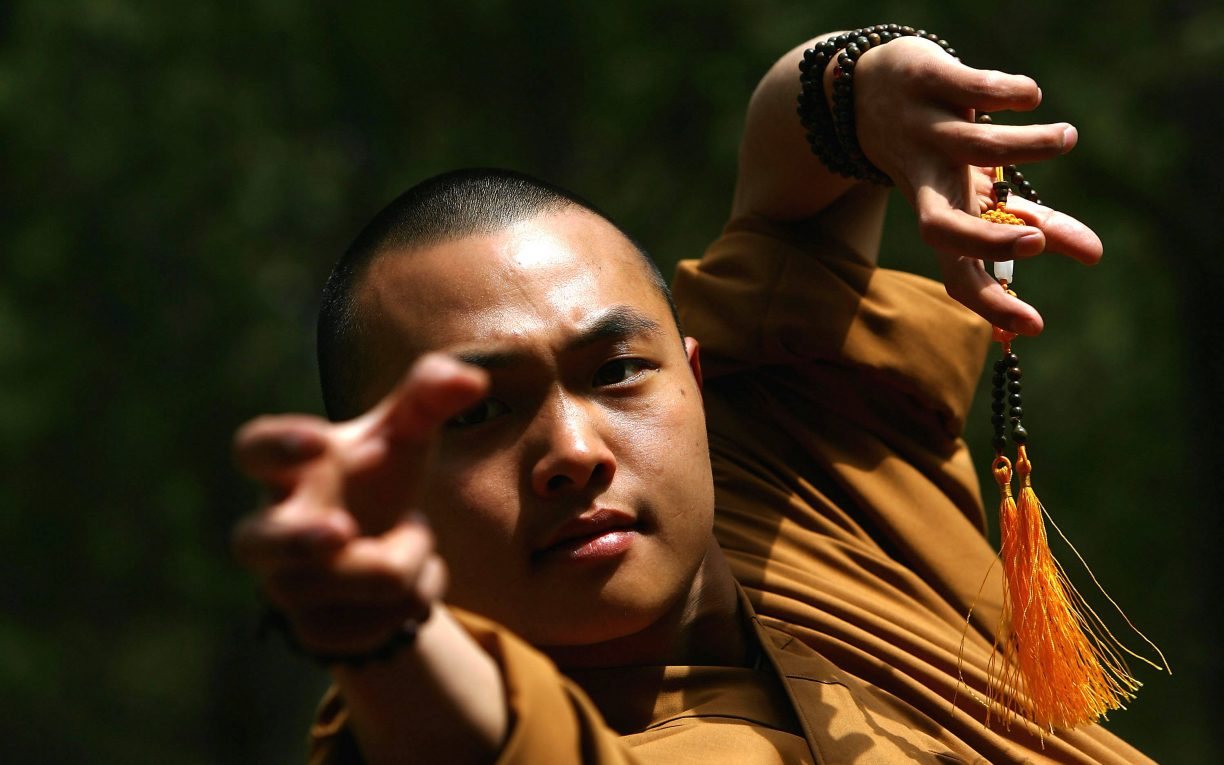 Warrior Monks Of Shaolin Temple