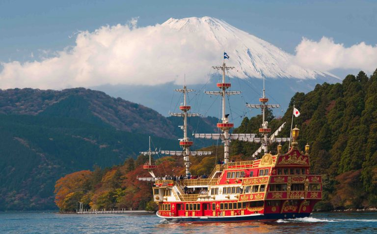 Lake Ashi hakone japan