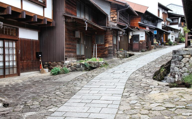 Magome Street nakasendo way japan
