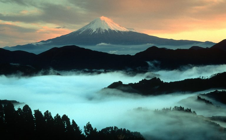 Mount Fuji Sunrise Japan