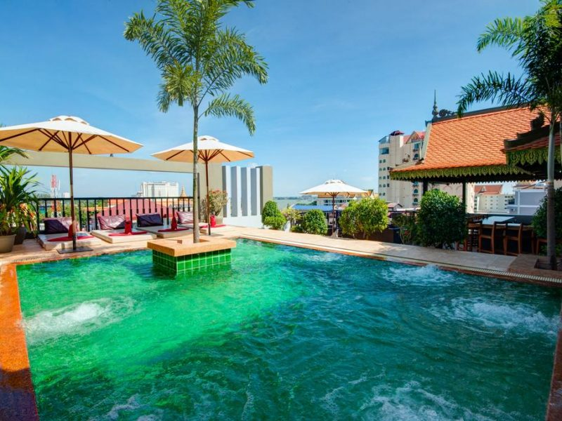 Queen Grand Boutique 4★, Phnom Penh