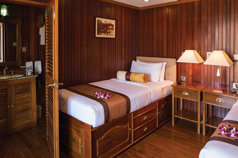 RV Tonle Pandaw deluxe twin room