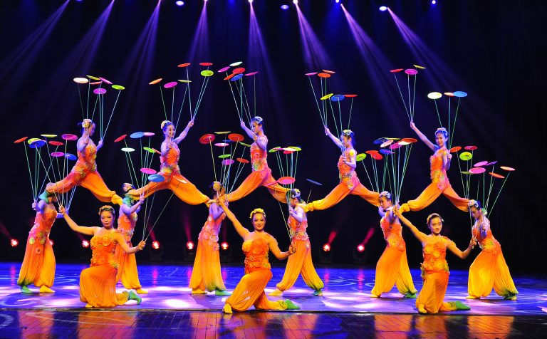 Shanghai Spring Flowers acrobatic show china