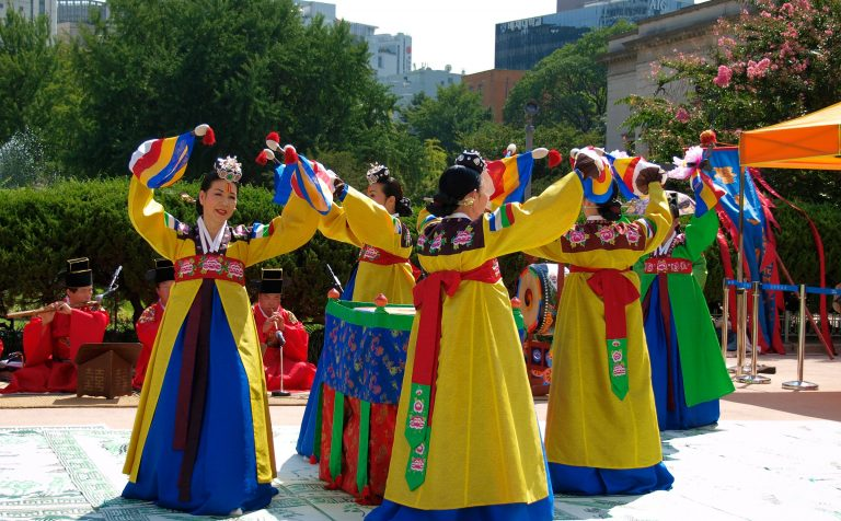 South Korea dance
