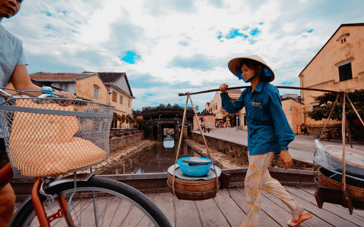 Streets of Hoi An Ancient Town, Quang_Nam province South Central Coast Vietnam