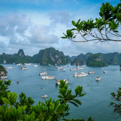 Titop peak view halong bay vietnam