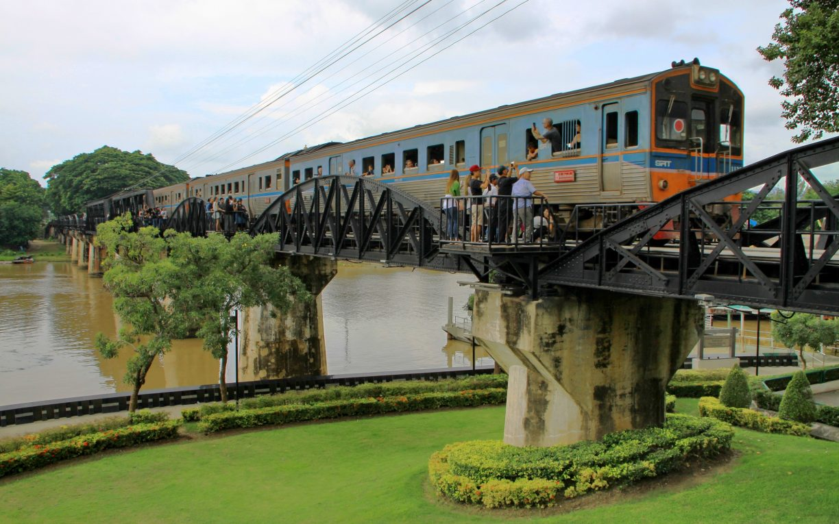 Train Bridge over the River Kwai Thailand