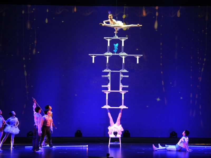 acrobatic shanghai show china