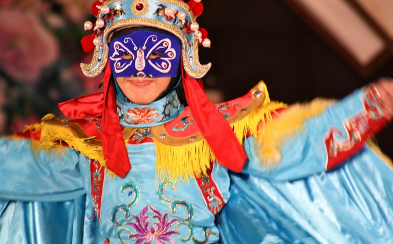 colourful Beijing opera china