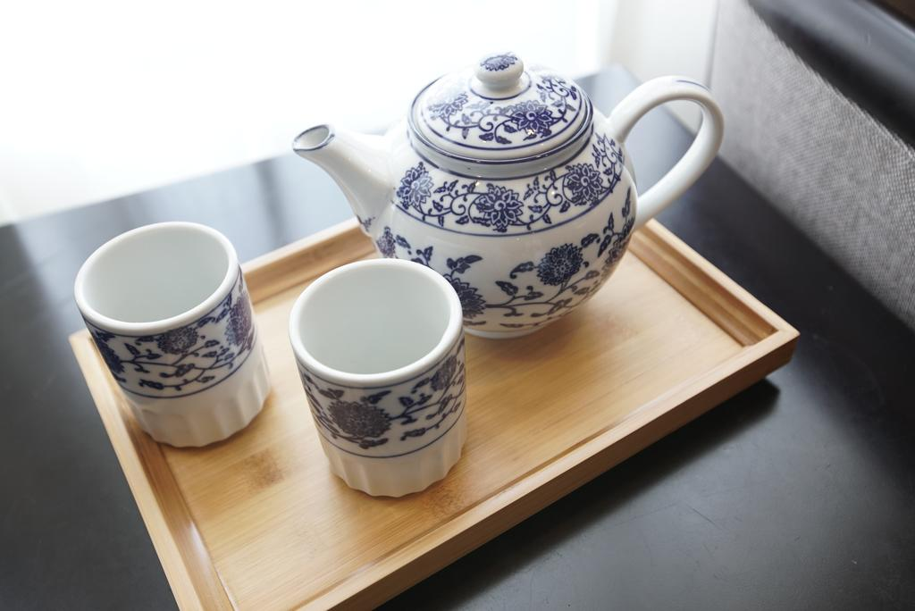 tea tray greenland jiulong hotel shanghai china