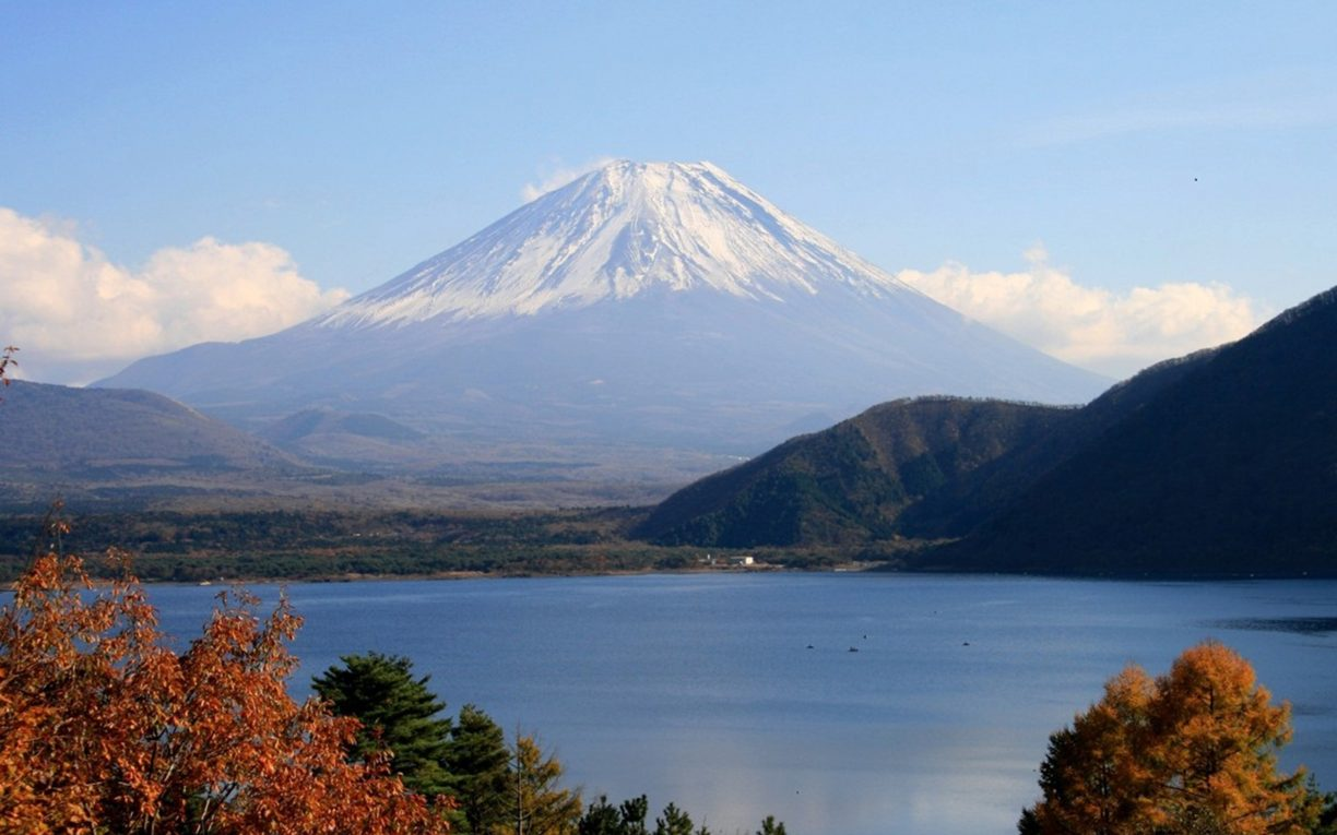 Mount Fuji Lake Motosu Five Lakes Japan