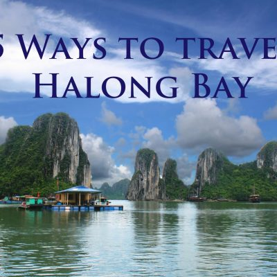 5 Ways to Travel Halong Bay