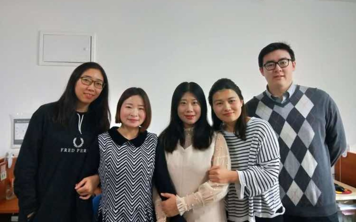 China Office staff photo