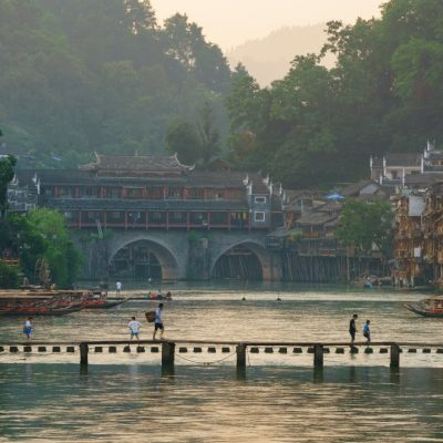 Fenghuang Ancient Town Hunan China