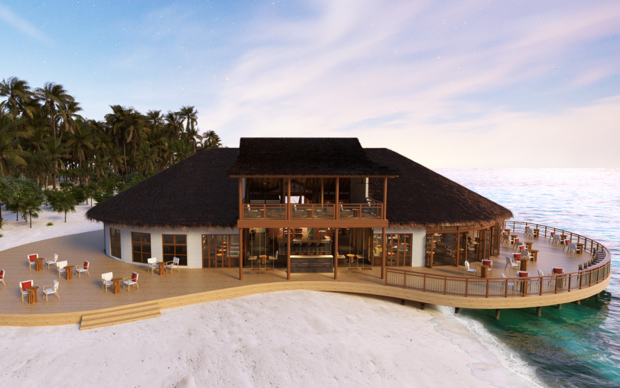 raiyvilla sunset bar Cinnamon Dhonveli Maldives