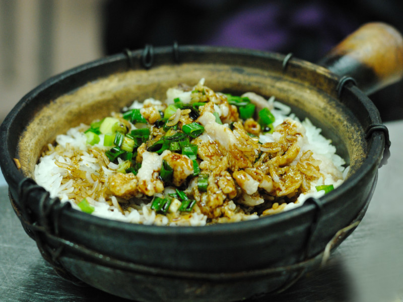 clay pot rice hong kong china